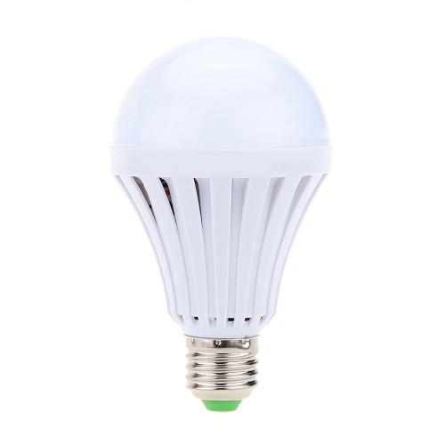 Lâmpada Led Bulbo Inteligente 5W 6500K Recarregável 220V E27  - Casafaz