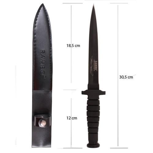 Faca Rambo VI Tática First Blood Tática Punhal LB-6  - Casafaz