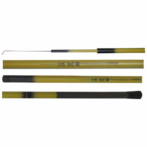 Vara De Pesca Telescópica Bamboo 1,80 m (4 Partes) Marine Sports