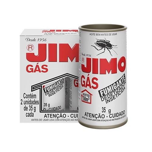Jimo Gás Fumigante Dedetizador Inseticida 2 Unidades de 35g Cada