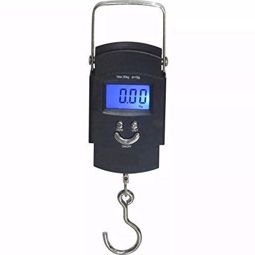 Balança Portatil Digital Xtrad Pesca Mala 50kg
