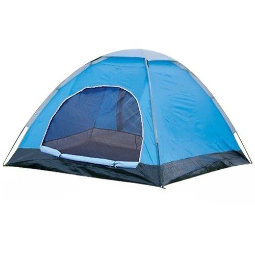 Barraca Camp 2 Pessoas 2,00 X 1,50 X 1,10 Mts Azul Albatroz