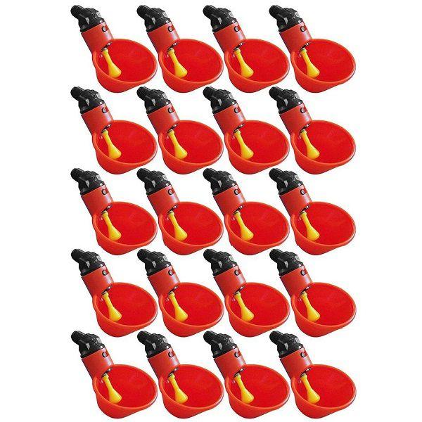 Bebedouro Aves Automático Concha 20 Unidades