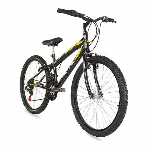Bicicleta Mormaii Aro 24 Mountain Bike New Wave 21V C16 Preto Fosco  - Casafaz