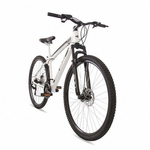 Bicicleta Mormaii Aro 29 Q17 Mountain Bike Venice Disk Brake Suspensão 21V C16 Branca Preta  - Casafaz
