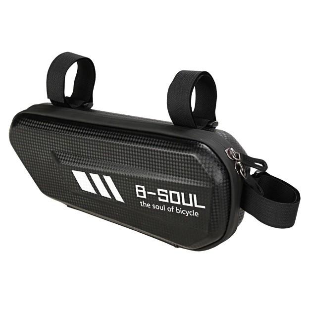 Bolsa B- Soul Para Quadro Bike Porta Celular Objetos Impermeável