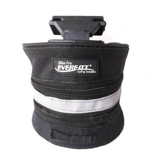 Bolsa De Selim Everestt Nylon Preta 110x170x120 Com Refletivo Com Refil  - Casafaz
