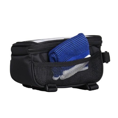 Bolsa Para Quadro Com Porta Celular Para Bike Phone Bag B-Soul  - Casafaz