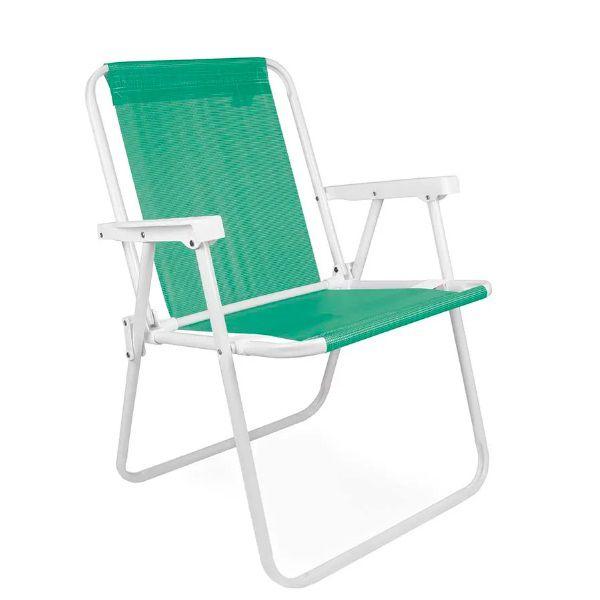 Cadeira Alta Sannet Anis Verde Mor - 2287  - Casafaz