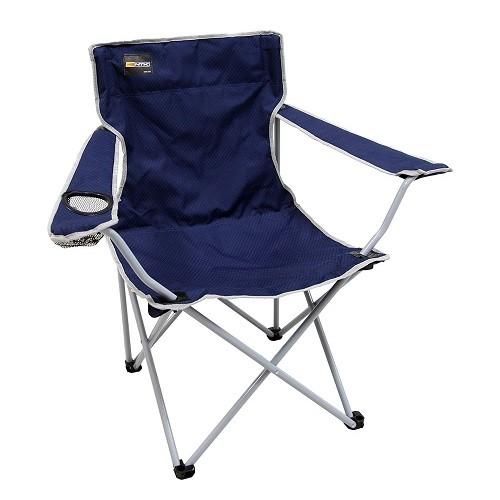 Cadeira Dobrável Alvorada Nautika Azul  - Casafaz