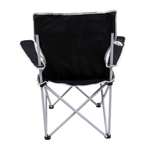 Cadeira Dobrável Alvorada Nautika Preta  - Casafaz
