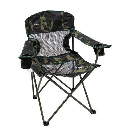 Cadeira Dobrável Fresno Nautika Camuflada  - Casafaz