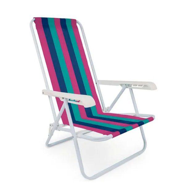 Cadeira Reclinável 4 Posições Praia Mor - 2004