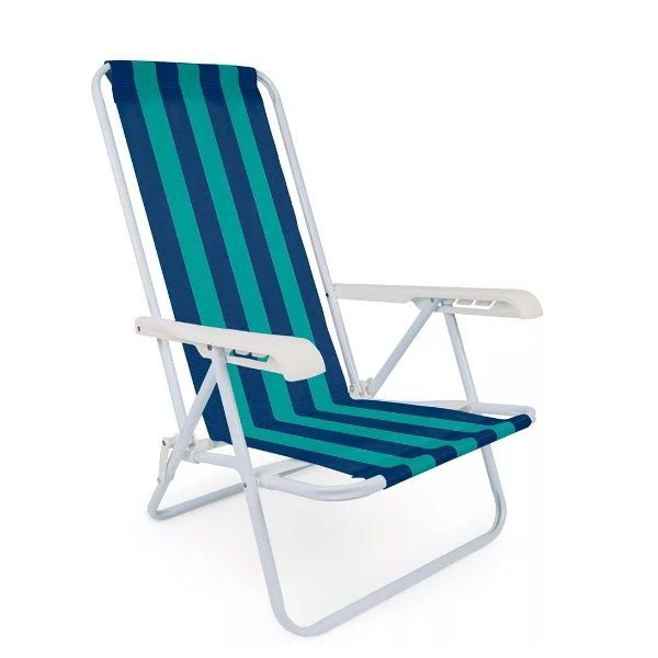 Cadeira Reclinável 4 Posições Praia Mor - 2004  - Casafaz