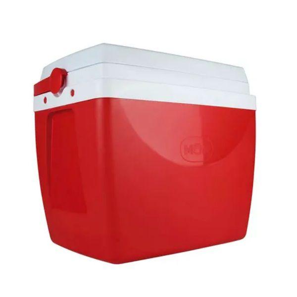 Caixa Térmica 26 Litros Vermelha Mor  - Casafaz