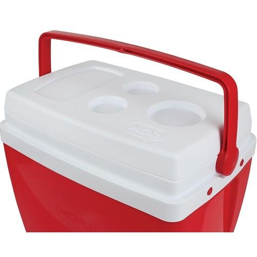 Caixa Térmica 34 Litros Vermelha Mor  - Casafaz