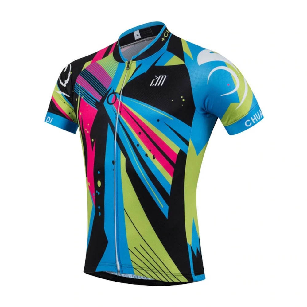 Camisa Ciclismo Bike Mtb Masculina Roupa Zm Cores