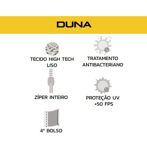 Camisa Ciclismo Feminina Duna Refactor Proteção UV +50 FPS Branca  - Casafaz