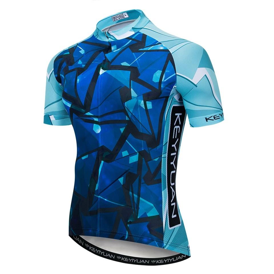 Camisa Ciclismo Roupa de Ciclista Mtb Bike Masculina Key  - Casafaz