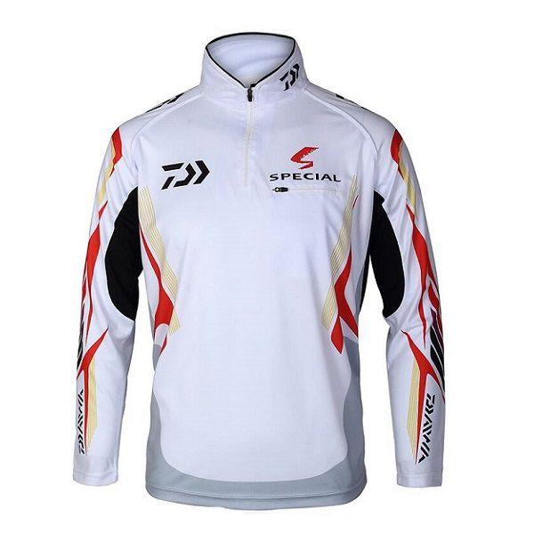 Camisa De Pesca Daiwa Proteção UV Branca