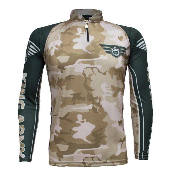 Camisa De Pesca King Brasil KFF301