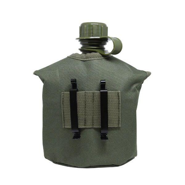 Cantil Militar Com Caneca E Espiriteira De Alumínio Apache 1 Litro Nautika  - Casafaz