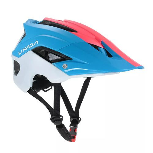 Capacete Ciclismo MTB Bike Mold Lixada Red/Blue 56 a 62cm  - Casafaz