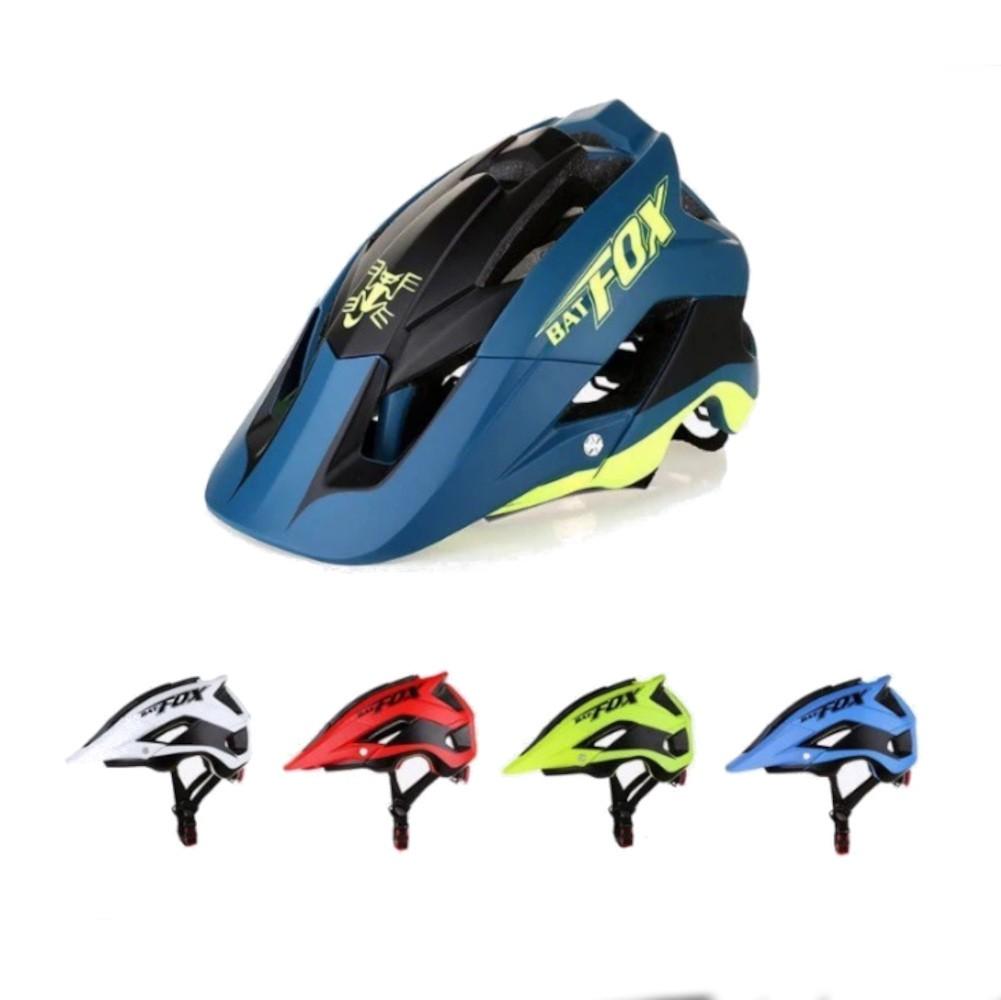 Capacete Ciclismo MTB Road Bike Mold Bat Fox 56 a 62cm