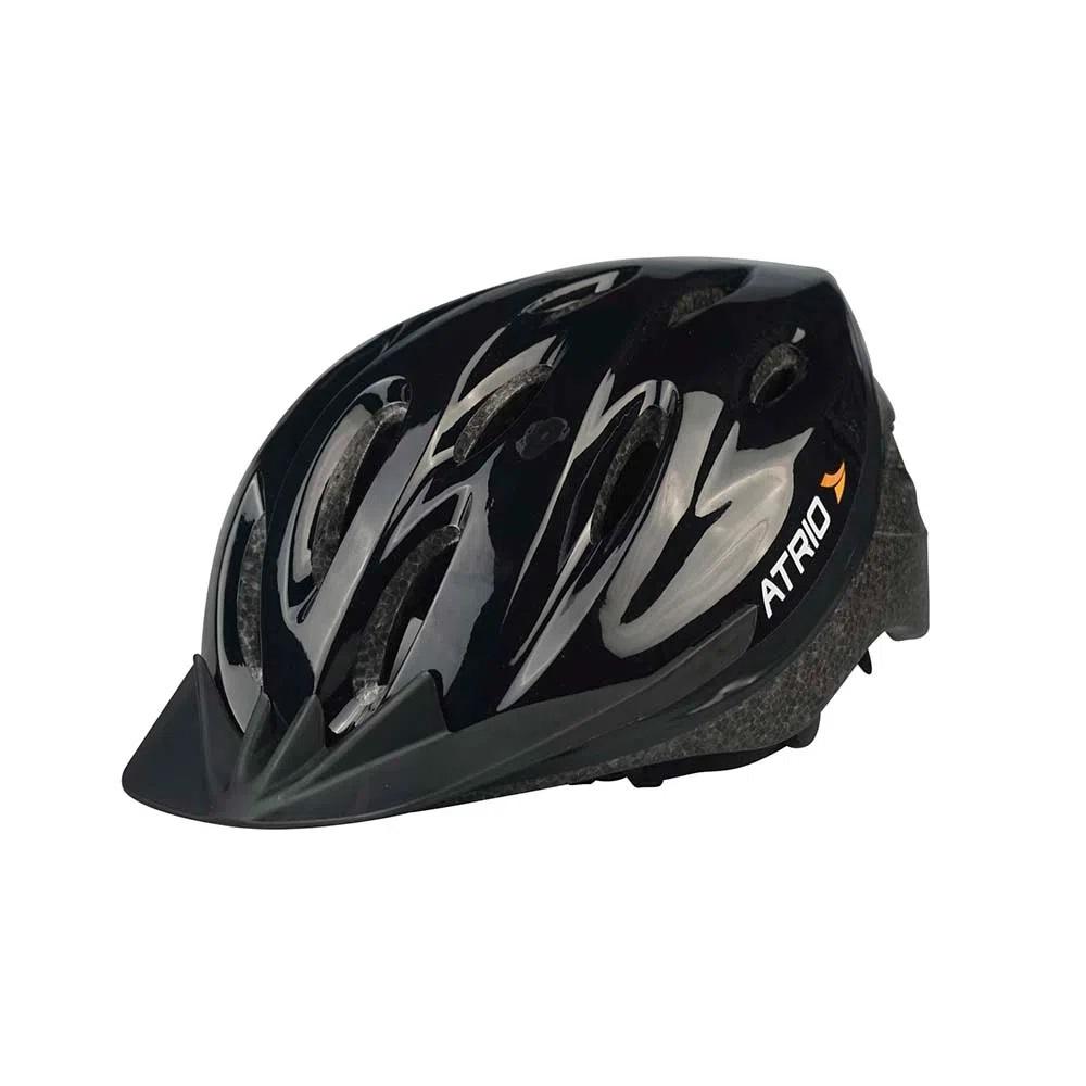 Capacete Ciclismo MTB Urban Preto Atrio