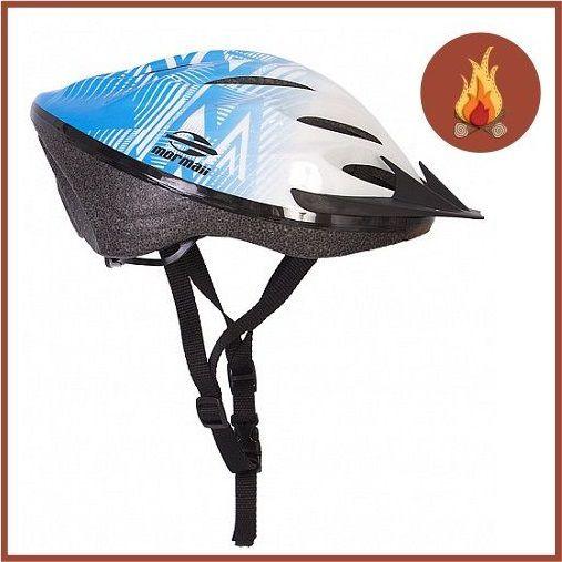 Capacete Ciclismo Triad Mormaii Azul Branco M  - Casafaz