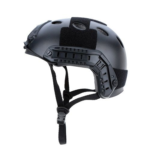 Capacete Tático Militar Airsoft Paintball Preto