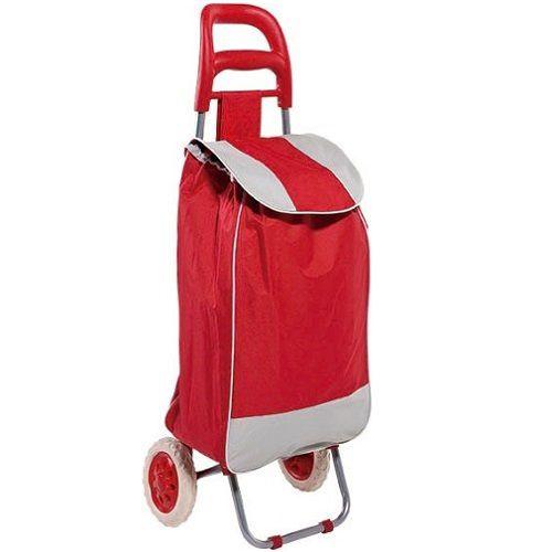 Carrinho de Compras Leva Tudo Bag To Go Mor  - Casafaz