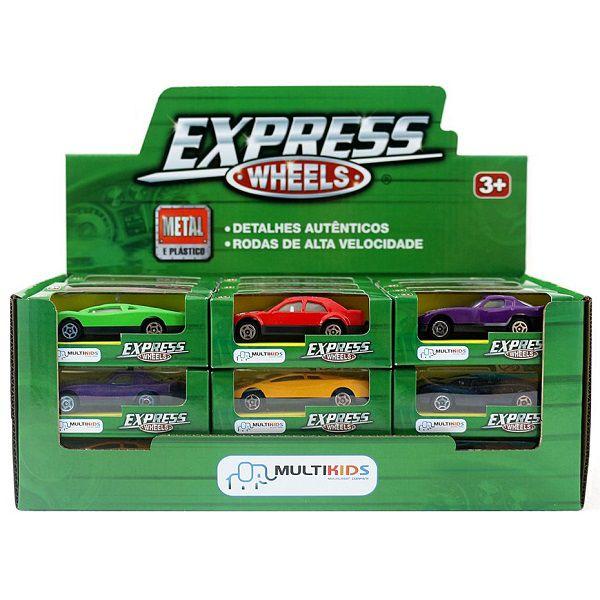 Carrinho Express Wheels Multikids - BR191  - Casafaz