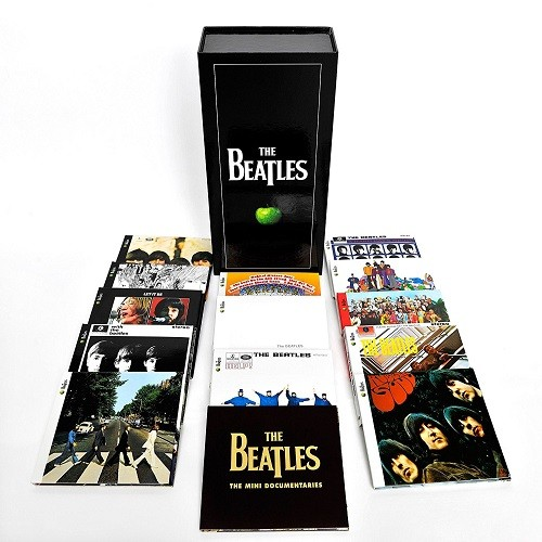 Cd Box Beatles 16cds & 1dvd  - Casafaz