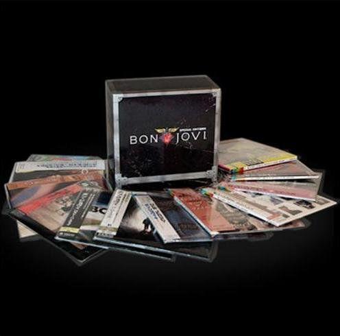 Cd Box Bon Jovi Special Editions 11 Cds e 1DVD   - Casafaz