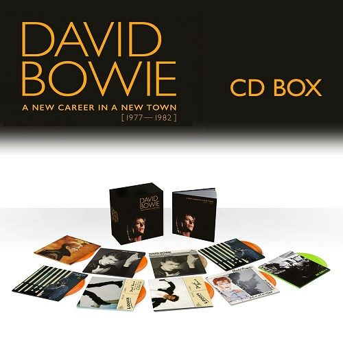 Cd Box David Bowie A New Career In A New Town 1977-1982 9cds  - Casafaz