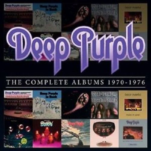 Cd Box Deep Purple The Complete Álbuns 1970-1976  - Casafaz
