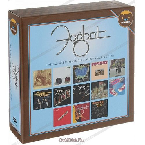 Cd Box Foghat The Complete Bearsville Albums 13 Cds