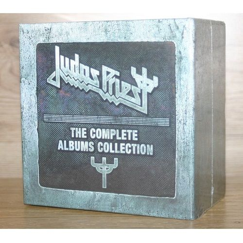 Cd Box Judas Priest Complete Collection 17 Albuns 19 Cds