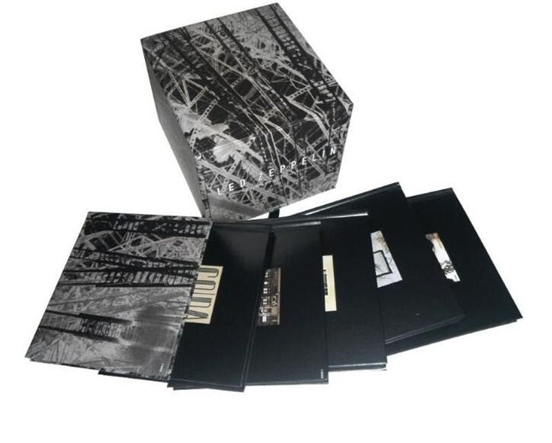 Cd Box Led Zeppelin The Complete Studio 10 Cds  - Casafaz