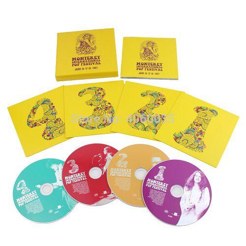 Cd Box Monterey International Pop Festival June 1967  - Casafaz