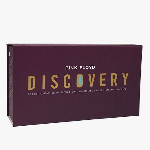 Cd Box Pink Floyd Discovery 16 Cds com Livreto 60 Paginas
