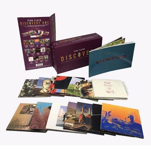 Cd Box Pink Floyd Discovery 16 Cds com Livreto 60 Paginas  - Casafaz