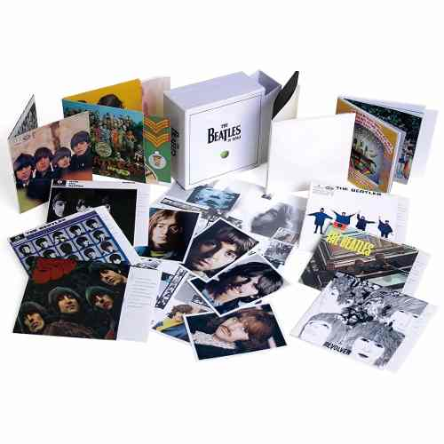 Cd Box The Beatles In MONO 10 Albuns 185 Musicas  - Casafaz