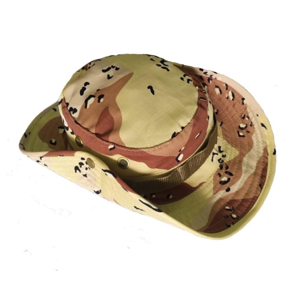 Chapéu Tático Boonie Camuflado Selva 688
