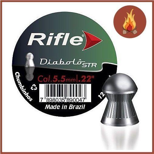Chumbinho Para Carabina de Pressão Rifle 5,5 Com 1000