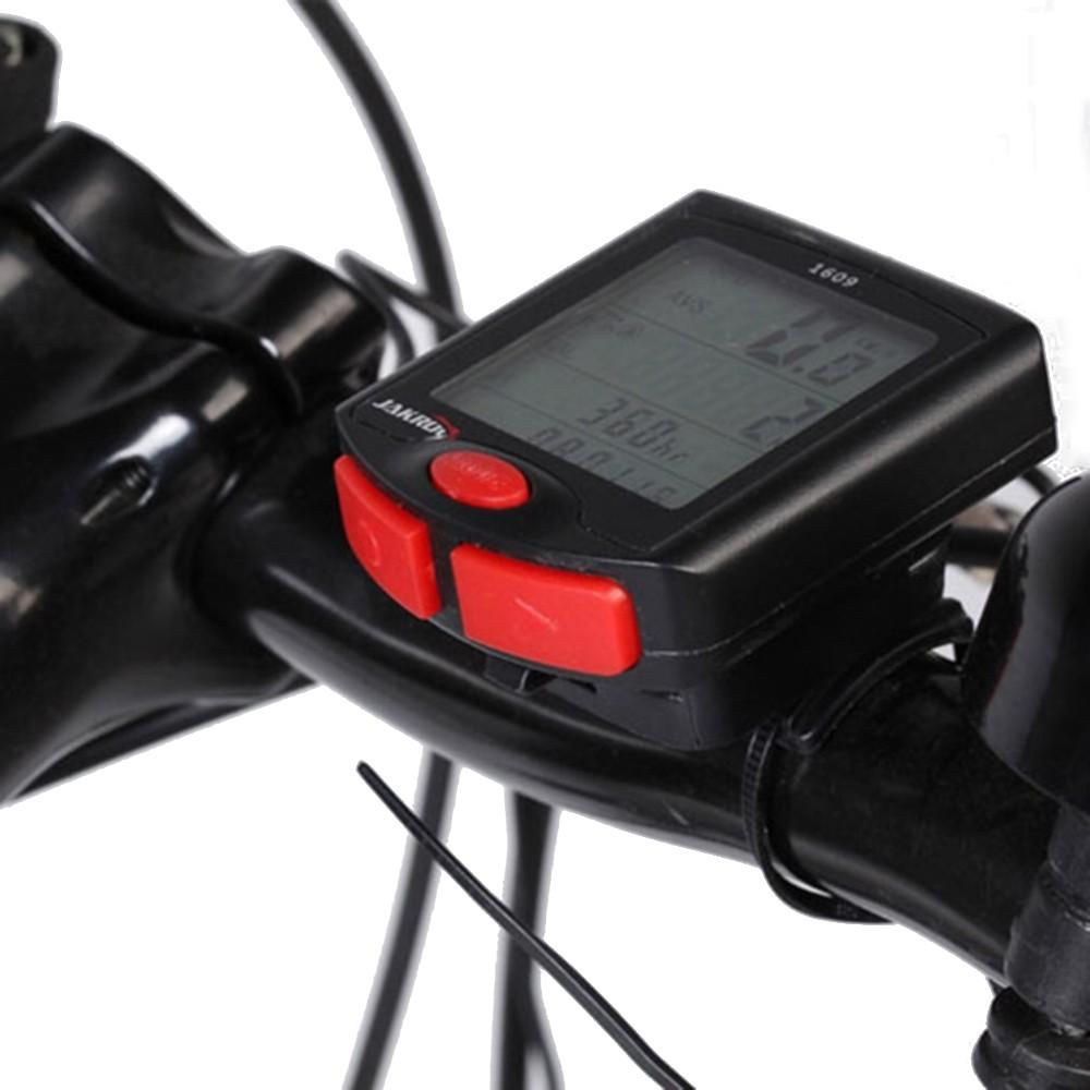 Ciclocomputador Odômetro Bicicleta Bike Multi Funções Com Fio YT-813