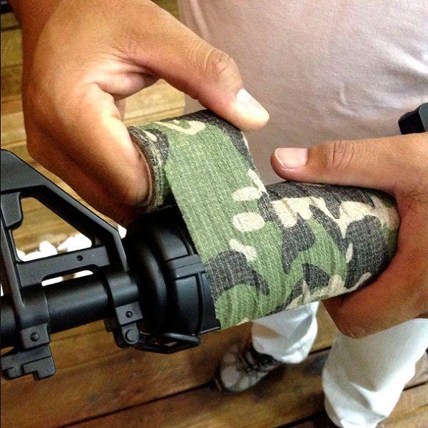 Fita Adesiva Para Armas Tática Airsoft Paintball Camo Tape Nautika  - Casafaz