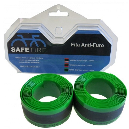 Fita Anti Furo Bike MTB 35mm Aro 26/27.5/29 Safetire (Par)  - Casafaz