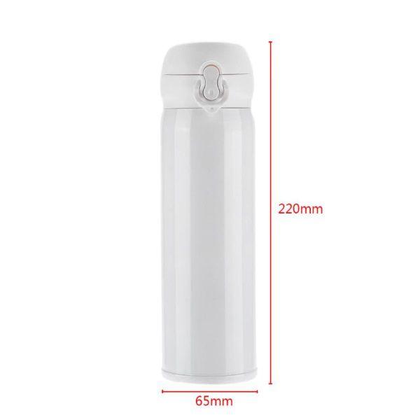 Garrafa Térmica Vácuo 450ml Aço Inox Trava Vacuum Flask  - Casafaz